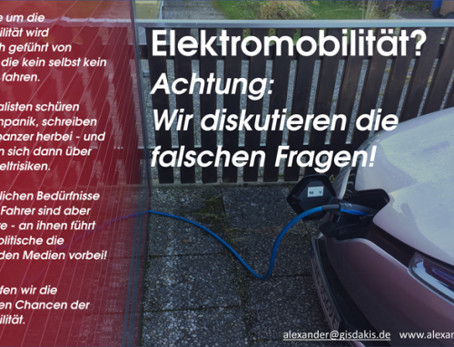 Elektromobilität?